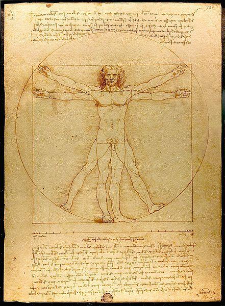 Da Vinci: The vitruvian Man – Der vitruvianische Mensch